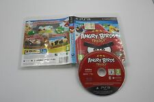 PLAY STATION 3 PS3 ANGRY BIRDS TRILOGY SIN MANUAL PAL ESPAÑA