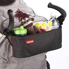 Baby Stroller Organizer Diono Buggy Buddy Toy Bottle Cup Holder Waterproof Black