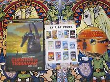 CUENTOS DE TERRAMAR STUDIO GHIBLI GORO MIYAZAKI DVD VER. ESPAÑOLA PAL REGION 2