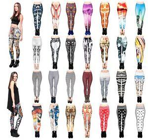 Kukubird activewear Women's Gym Fitness zebra lion tartan mandala Leggings