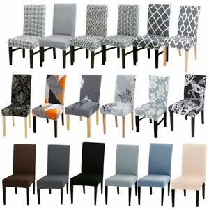 Elastic Dining Chair Covers Kitchen Home Wedding Chair Protective Slipcovers HOT