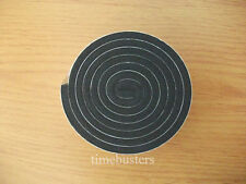 1m Black Double Sided Foam Tape Closed Cell 10mm Wide x 4.5mm Thick