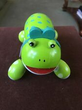 Frog Body Massager 4-point Wood One Piece Wooden Hand Tool Massage