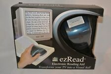 Carson EZ Read Electronic Reading Aid Magnifier Transform TV Display Projector