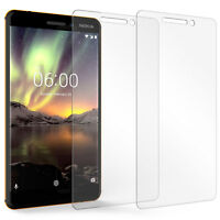 2 Pack, Nokia 6 (2018) Screen Protectors Best Tempered Glass Thin Protection
