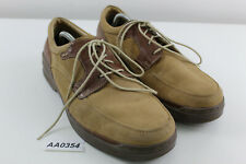 CLARKS Brown Leather Shoes size Uk 9.5G