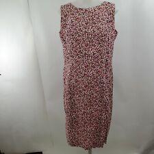 Brooks Brothers Liberty of London Fabric Dress 8 Pink Floral Sheath Tank