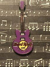 Hard Rock Cafe Narita Tokyo Purple Core Guitar 3 strings