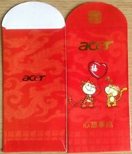Ang pow red packet acer 1 pc new # D