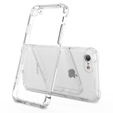 """Shockproof Case Cover for iPhone 7 and iPhone 8 4.7"""" Transparent Soft TPU Bumper"""