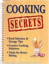 COOKING SECRETS New BOOK Tips TRICKS Hints SHORTCUTS Kitchen BAKING Preparation