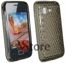 Cover Custodia Per SAMSUNG Star 3 Duos S5222 Silicone Nero Gel TPU Diamond