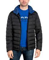 Michael Kors Men's Down Puffer Packable Jacket Black Size Medium Lightweight