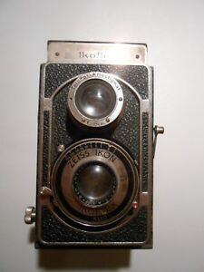 Zeiss Ikon Ikoflex II KLIO Modell 851/16, Objektiv Novar-Anastigmat 1:4,5/8cm