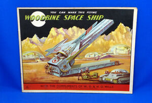 1950'S WILL'S WOODBINE CIGARETTES SPACE CUT OUT BOOK COMPLETE SMOKING ADVERTISIN