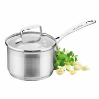 New SCANPAN Impact Covered Saucepan with Lid 14 /16 /18 /20cm Save Kitchenware