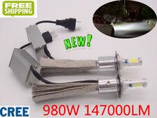 H4 H7 H1 H11 9005 980W 147000LM CREE LED Headlight Kit White Fog Light Bulb Lamp