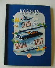 Kosmos ÜF Sieg über Raum und Zeit (31142/8) komplett Sammelbilderalbum (Z1)