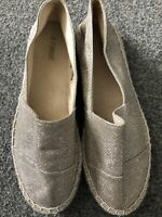 Next - Espadrilles - New Gold flat espadrille slip on shoes, size 6 (EU39)