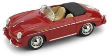 PORSCHE 356 SPEEDSTER 1952 ROSSO RUBINO/CREMA Brumm R117S-05