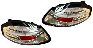 LED Tail Rear Lights BLACK for PORSCHE BOXSTER 986 96 97 97 99 00 01 02 03 04