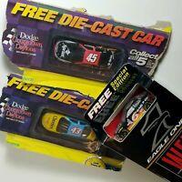 Vintage • Hot Wheels • Lot of 3 NASCAR Promo Cars • In Original Packaging! Cool!