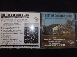 CD BEST OF COUNTRY BLUES / SOUTHERN CAMPTOWN BLUES /