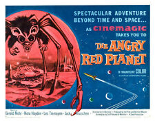 The Angry Red Planet Poster Replica Print 14 x 11""