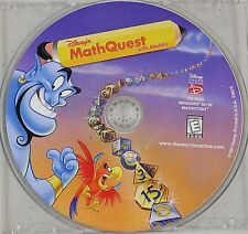 MATH QUEST W/ALADDIN (Jewel Case) Cokem International Ltd. CD-ROM
