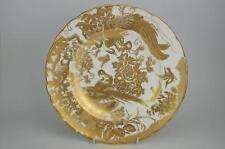 """Excelente Royal Crown Derby """"Oro posteriores de 10.5"""" PLATO 1st Calidad 9 disponible"""
