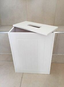 WOODEN BATHROOM STORAGE UNIT MULTIPURPOSE BATHROOM STORAGE CABINET BOX SLIMLINE