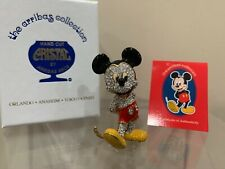 Swarovski Crystal Arribas Collection Mickey Mouse Fab Five Arribas Brothers New
