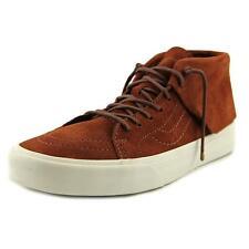 Vans SK8 MID Moc Men US 8.5 Brown Sneakers