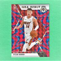 2019-20 Panini Prizm Mosaic Tyler Herro Rookie Card Orange Blue Reactive Miami