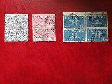 Ireland Stamps 3 blocks of 4 used