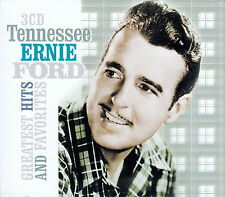TENNESSEE ERNIE FORD : GREATEST HITS AND FAVORITES / 3 CD-SET - TOP-ZUSTAND