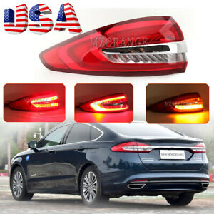 Left Tail Lamp For Ford Fusion Mondeo 2017 2018 2019 2020 Rear Beake Light USA