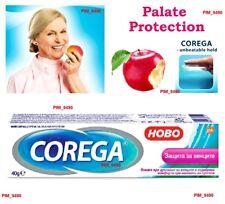 COREGA Denture FIXING CREAM - Palate PROTECTION Protect Your Teeth, No Zink 40g