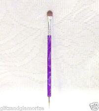 DL Debra Lynn Kolinsky Premium Quality FRENCH DETAIL Brush w/Dotting Tool
