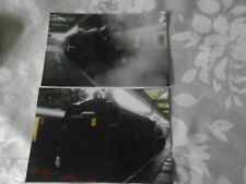 2 6x4 Photos of Steam Loco 45305 at Loughborough Central Railway Station, GCR