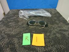 TITMUS MILITARY SURPLUS WELDING SAFETY LASER GREEN EYE GLASS GLASSES LENSES NEW