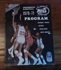 1970-71 NEW YORK NETS V KENTUCKY COLONELS ABA BASKETBALL PROGRAM HIGH GRADE NICE