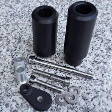 2000-2003 Suzuki GSXR600 GSXR750 GSXR 600 750 BLACK FRAME SLIDERS