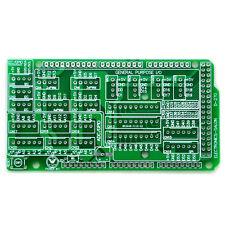 1x I/O Extension PCB for Arduino MEGA 2560 R3 Board DIY.