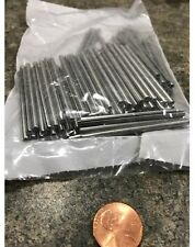 """Zinc Plate Slotted Roll Spring Pin, 1/8"""" Dia x 2"""" Length, Pkg of 100 pcs"""