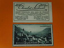 CHROMO PHOTO CHOCOLAT SUCHARD 1928 FRANCE MALAUSSENE ALPES MARITIMES