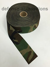"60 YARDS OF 1000 Denier Fabric 2.25"" Width Cordura Military WOODLAND CAMO"