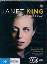 Janet King Series Two Second 2 2nd DVD NEW Region 4