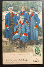 1905 Poland Russia Empire Picture Postcard Cover To Hungary Poland Army