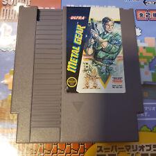 Metal Gear Nes (Nintendo) Game.